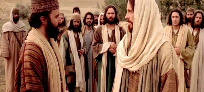 Jesus falando